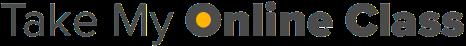 take my online class logo
